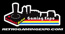 Portland Retro Gaming Expo logo